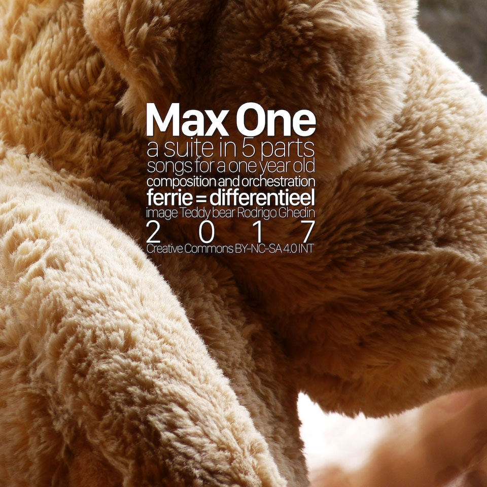 Capa do álbum Max One.